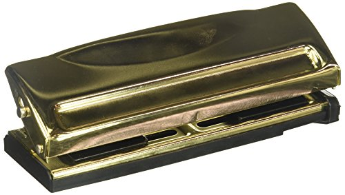 DCWV Moment Maker Gold Adjustable 6-Hole Punch