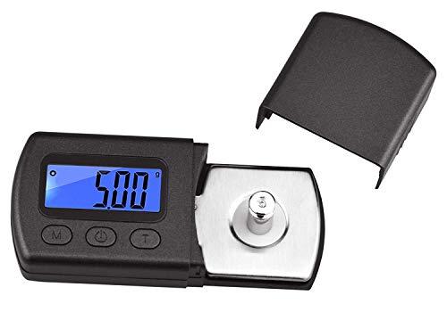 Flybiz Tester Scala Forza Puntina digitale per piatto del giradischi, Alta precisa 0.01g scala...