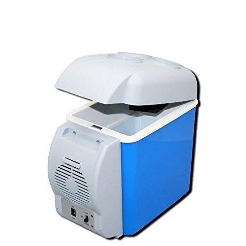 Generic Mini Refrigerator Portable Fridge 12V 7.5L Auto Mini Car Travel Fridge ABS Multi-Function Home Cooler Freezer,