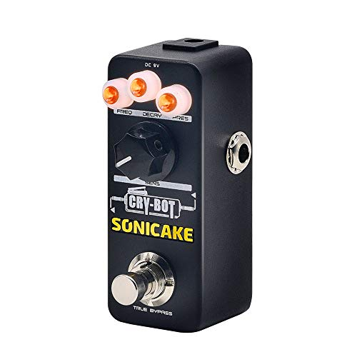 Sonicake Auto Wah Envelope Filter Bass Guitar Effects Pedal Cry-Bot for that Funky Mojo