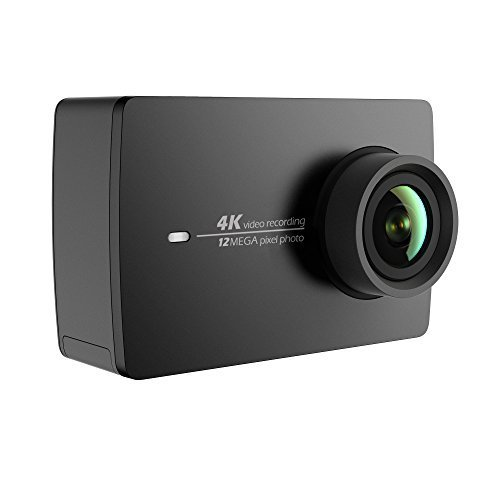 YI Action Camera 4k, Videocamera Action Cam HD 4K / 30 fps, 1080p / 120 fps, Fotocamera Digitale 12 MP, Wifi (Nero)