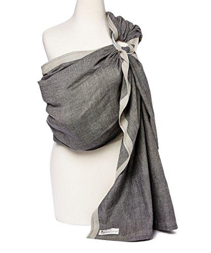 Hip Baby Wrap Porte-bébé sling pour les nourrissons et les tout-petits (minuit)