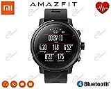 Amazfit Stratos Smartwatch Aktivitätstracker Fitness Tracker Schrittzähler GPS Wasserdichte Bluetooth Internationale Version Schwarz