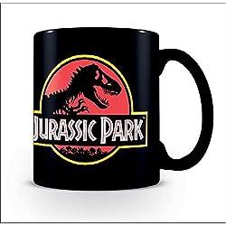 Taza Jurassic Park - Logotipo Clásico