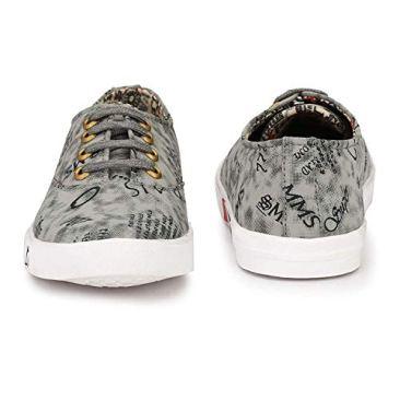 Red Rose Men's Grey Sneaker Shoes 4