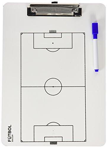 Carpeta Táctiva Veleda Futbol Blanca