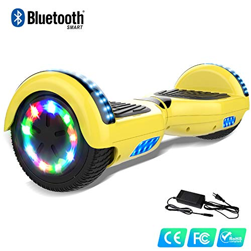 WATSON 6,5' Self Blance Scooter Elettrico Scooter Elettrico Luci su Ruote LED Self Balance...