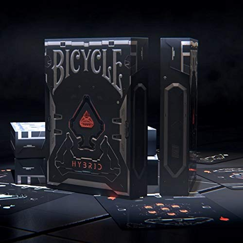 Bicycle Hybrid Limited Edition Deck 3D Structured Card by Elite Playing Cards
