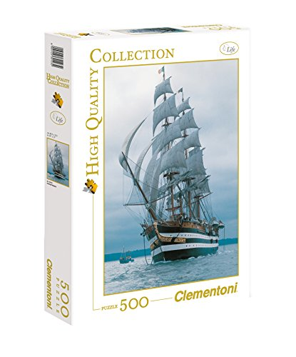 Clementoni Puzzle 30123 - Amerigo Vespucci - 500 pezzi High Quality Collection