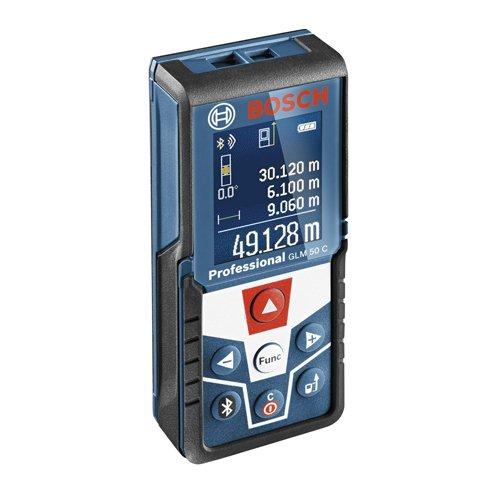 Bosch Professional 0601072C00 GLM 50 C Distanziometro Laser, Campo di Misura 0.05 - 50 m Interfaccia Bluetooth per App