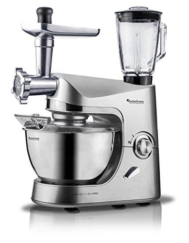 Turbotronic robot da cucina multifunzione 2000w 5Litri Silver