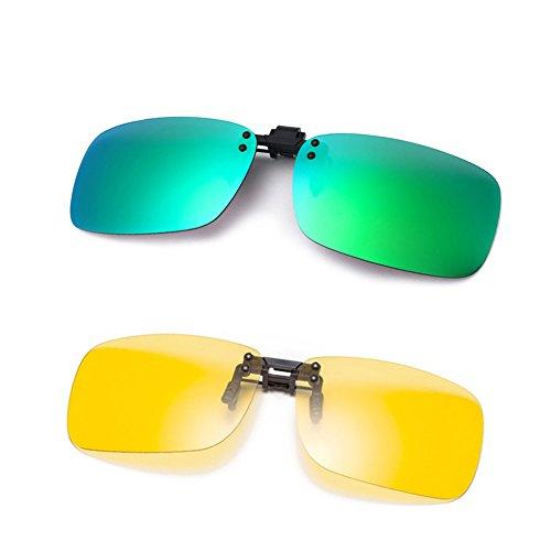 ... Lunettes de Soleil,  Anti-reflet   Protection UV  Conduite Pêche Sport  Lunettes de Vision Nocturne, Hommes et Femmes   Organise ta fête au meilleur  prix 6c243fefadd6