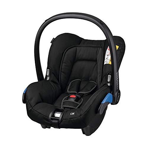 Maxi-Cosi Citi Babyschale, federleichter Gruppe 0+ Kindersitz (0-13 kg), nutzbar ab der Geburt bis 12 Monate, Black Raven