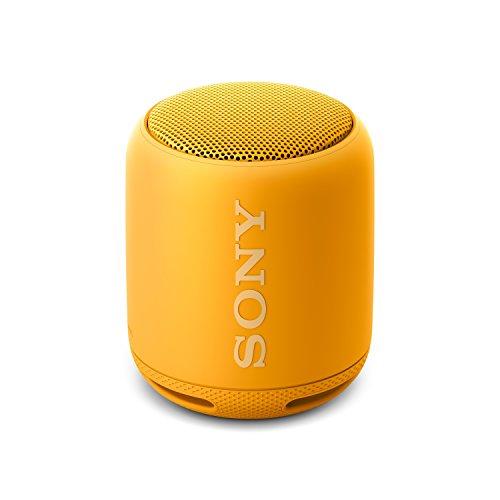 Sony SRS-XB10Y- Altavoz inalámbrico portátil (Bluetooth, Extra Bass, NFC, 16h de batería) Color Amarillo