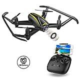 DROCON Drone con Telecamera HD (1280*720P) Grandangolare-Regolabile WiFi FPV Quadricottero...