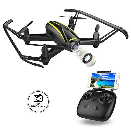 DROCON Navigator Drone Per Ragazzi Con Telecamera HD (1280 x 720p) e Grandangolare 120°...
