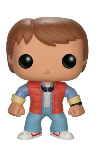 Pop! Movies - Marty McFly de Regreso al futuro, figura de 10 cm (Funko FUNVPOP3400)