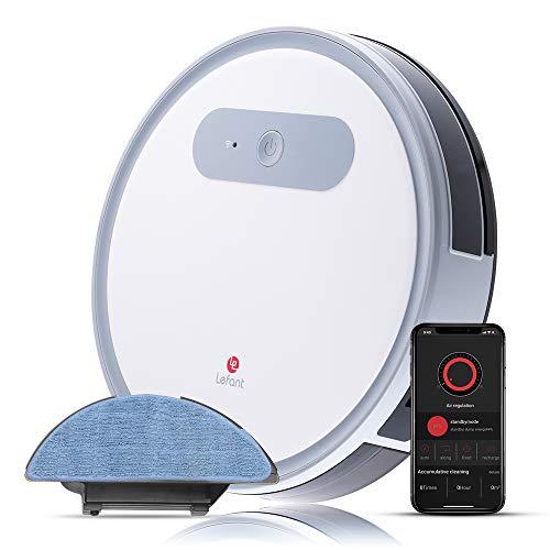 Robot Aspirapolvere e lavapavimenti, con WiFi, Professionale 4 in 1, Scopa, Aspira, Passa Il Panno E...