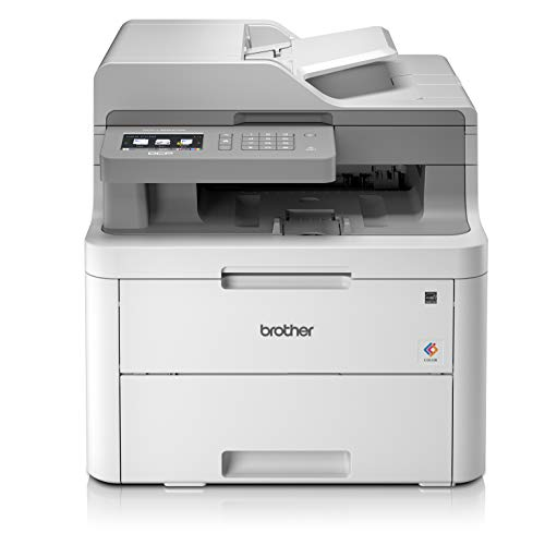 Brother DCPL3550CDWYY1 Stampante Multifunzione a Colori LED, 18 ppm, Wi-Fi, Ethernet, USB 2.0...