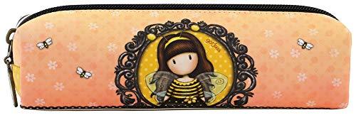 Gorjuss - Astuccio piccolo per matite con scritta'Bee-Cause'