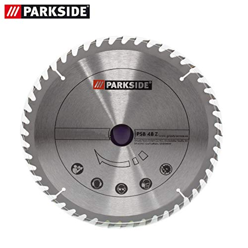 Parkside PTKS 2000 A1 - LIDL IAN 273460 - Hoja de sierra circular de metal duro, 48 dientes