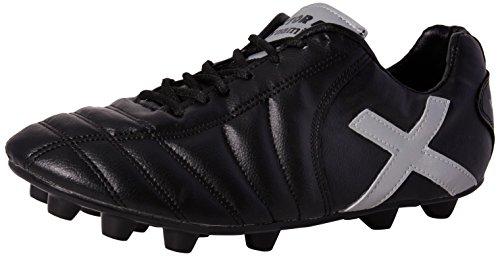 Vector X Dynamic 001 Football Shoes, Men's UK 3 (Black/Silver)