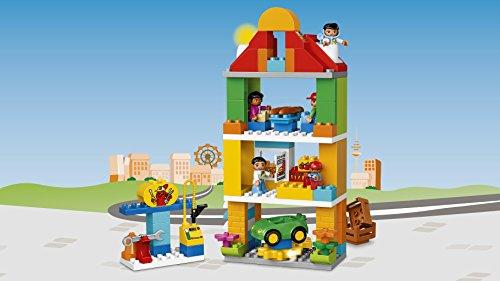 lego 10836 duplo jeu de construction le centre ville jeux de construction. Black Bedroom Furniture Sets. Home Design Ideas