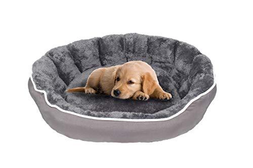 Datex Cuccia per Cani e Gatti, Coccole Grigio Scuro, 48 X 42 X 16 Cm