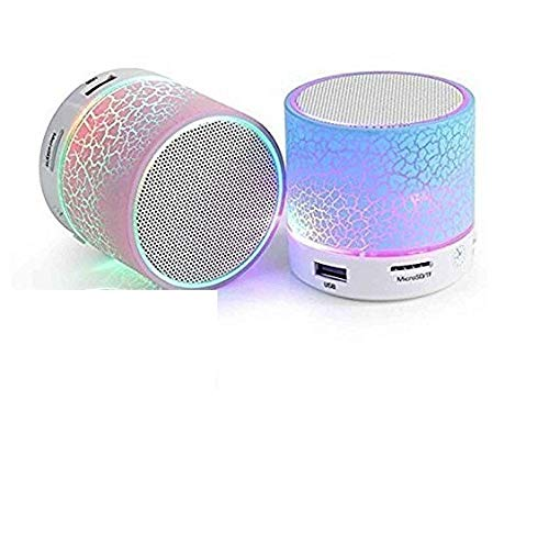Mobizu S10 Bluetooth Speakers with Calling Functions & FM Radio for Android/iOS Devices (Color May Vary)(1 Piece)