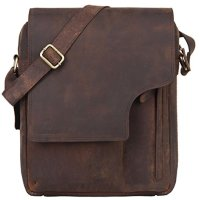 Leaderachi 100 Genuine Leather Crossbody Messenger