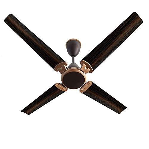 Kenstar Quattro Rose FN-KCAC261BG4A-OQN 1320mm Smart Fan with Remote (Brown)