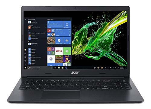 Acer Aspire 3 Thin A315-54 2019 15.6-inch Full HD Thin and Light Notebook (8th Gen Intel Core i3-8145U Processor/4GB RAM/256GB SSD/Windows 10 Home 64 Bit/Intel UHD 620 Graphics), Shale Black