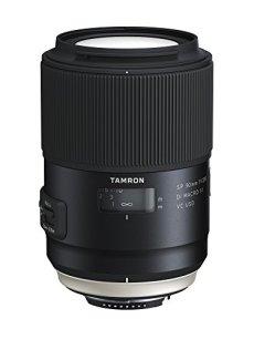 Tamron SP AF 90 mm F/2.8 Di VC USD MACRO 1:1 - Objetivo para cámaras réflex Nikon (estabilizador imagen VC, Cristal XDL, Sistema IF), negro