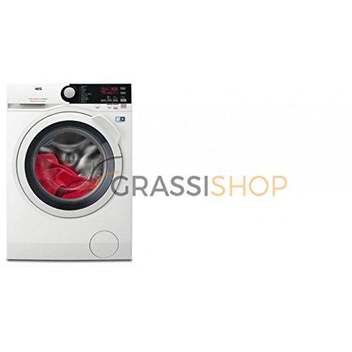 AEG L7WEE961 Lavasciuga (Carico frontale, Libera installazione, Touch, LCD), Bianco, Senza...