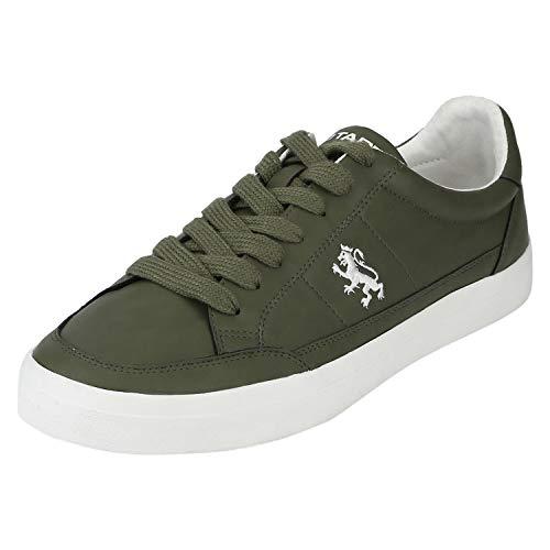 Red Tape Men's Rte1726 Olive Sneakers-8 UK (42 EU) (RTE1726-8)