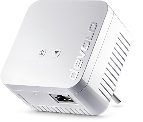 Devolo - Adattatore di rete WiFi Powerline dLAN 550, Ethernet