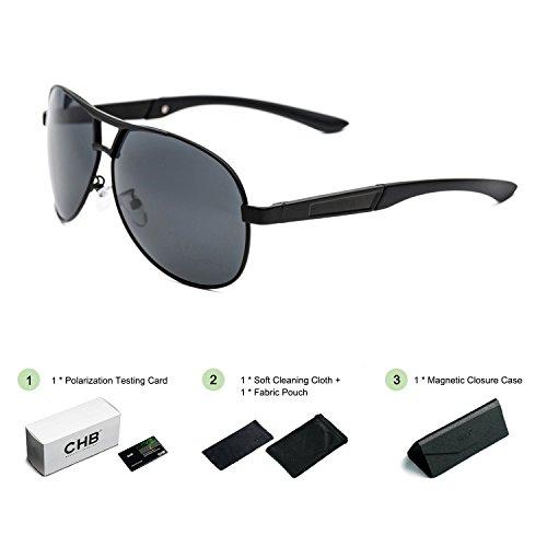 8b3bca793f Gafas de Sol Polarizadas para Hombre, Estilo Aviador. Protección UV ...