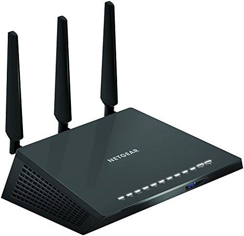 Netgear Router WiFi, Compatibile con Alexa, Velocità AC1900, 5 porte Ethernet (R6800)