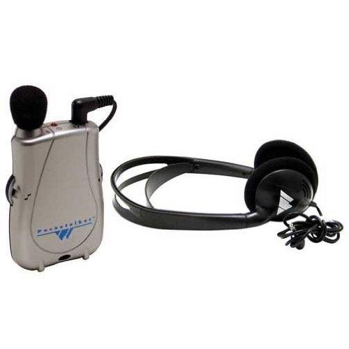 Unbranded Pocketalker Ultra Personal Sound Amplifier with Heavy-Duty Folding Headphone H27