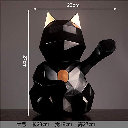Soprammobili Sculture Decorative Statua Decorazioni per Gatti Portafortuna Decorazioni per Mobile TV