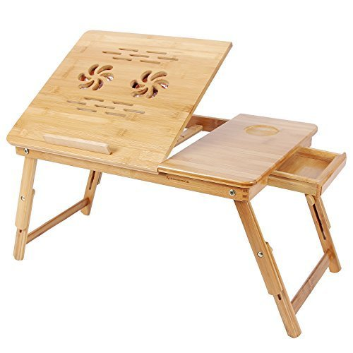 Paffy Multipurpose Foldable Laptop Table (Wood)