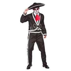 Deluxe Mariachi - Day Of The Dead - Adult Costume SMALL