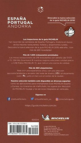 La guía MICHELIN España & Portugal 2018: Restaurants & Hotels (La guida Michelin) 1