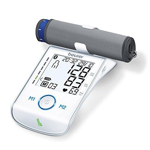 Beurer BM 85 digitales Oberarm-Blutdruckmessgerät, bluetoothfähig, mit Diagnose App und Ruheindikator