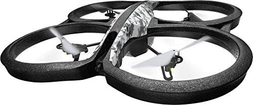 Parrot AR.Drone 2.0 Elite Edition - camera drones (Black, Grey, Backward, Downward, Forward, Turn left, Turn right, Upward, 1280 x 720 pixels, 1280 x 720 pixels)