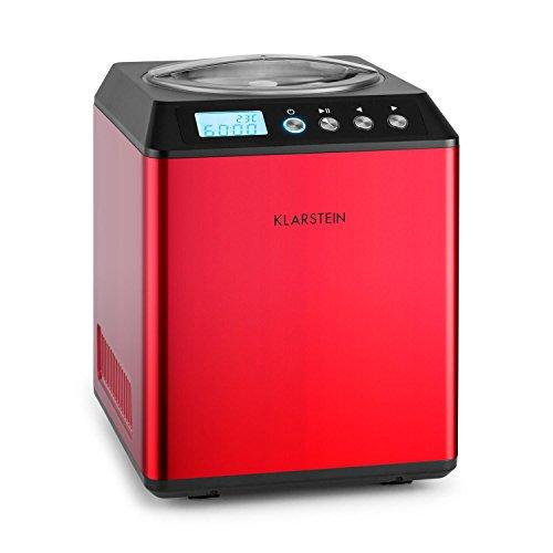 Klarstein Vanilla Sky • macchina gelato • 180 Watt • Capacità di 2 litri • Funzione di...