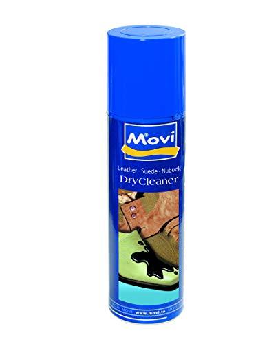 MOVI DRY CLEANER Spray - Smacchiatore a secco per pelli, camoscio, nubuck e tessuto. Rimuove le...