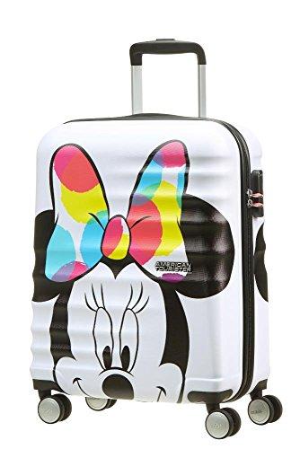 American Tourister Disney Wavebreaker, Bagaglio a mano , Multicolore (Minnie Close-Up), 36 liters, S...
