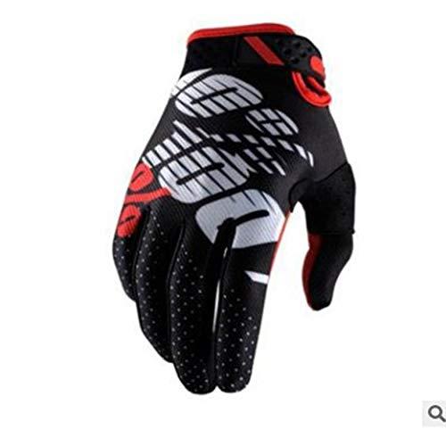 Folwme Unisex Motocross Racing Mountain Bike Bicicletta Guanti da Ciclismo Guanti Sportivi da...
