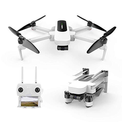 Hubsan Zino GPS FPV Pieghevole Drone 4K Telecamera con 3 Assi Gimbal Controllo App WiFi Monitoraggio Immagine Seguimi Panorama Fotografia Linea modalità Fly Waypoint Orbit Headless